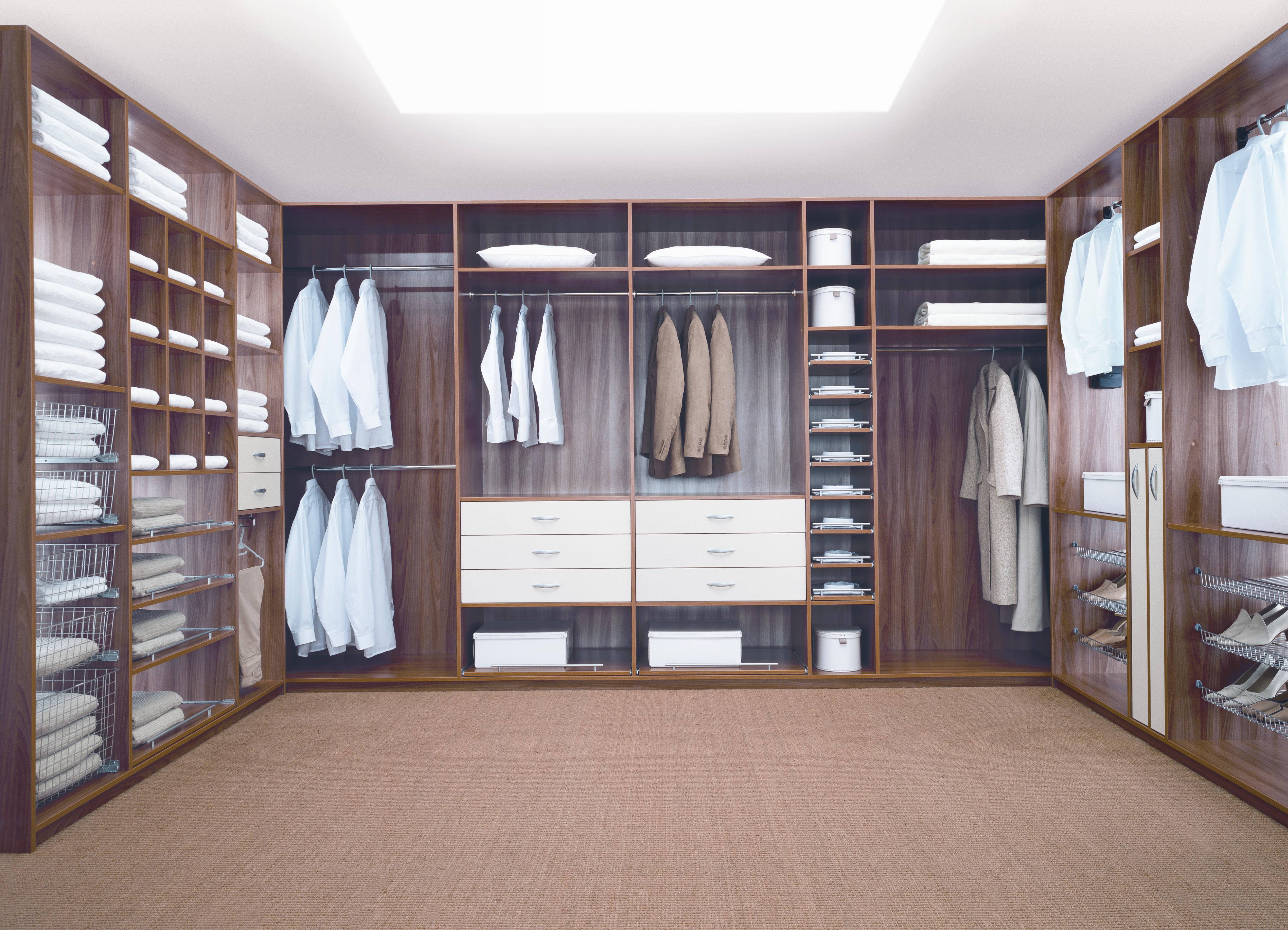 Устройство гардеробной комнаты фото