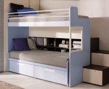 2-х ярусная кровать - ЛДСП Egger