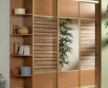 Профиль Integro, вставка - ЛДСП Egger, пальмовое полотно