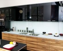 Прямая кухня, фасады - AGT