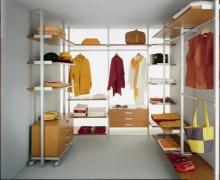 Система хранения Logo- гардеробная комната