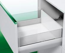 Nova Pro  ящик  с наращиванием стеклом  плавн закр / откр от нажатия